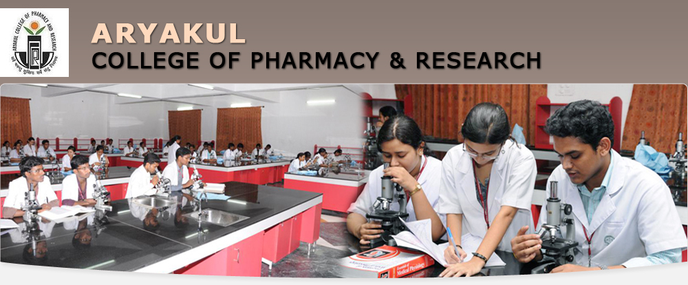 ARYAKUL COLLEGE OF PHARMACY AND RESEARCH